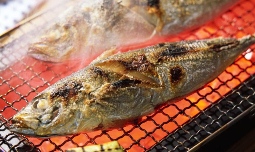 Savršeno pečena riba na roštilju