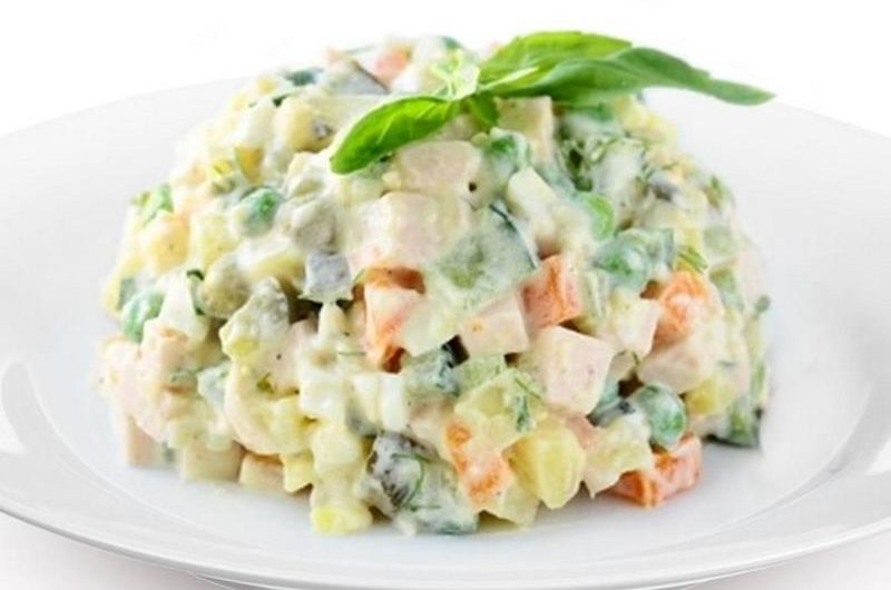 Ruska salata, najbolji recept