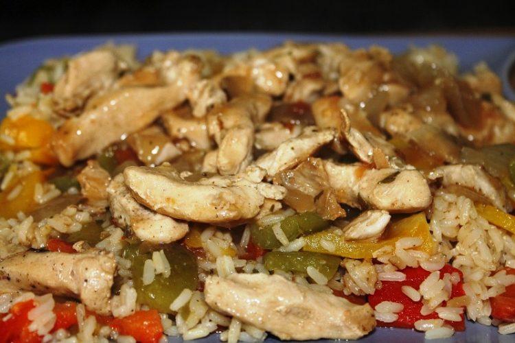 Brz ruček: Oriz sa povrća