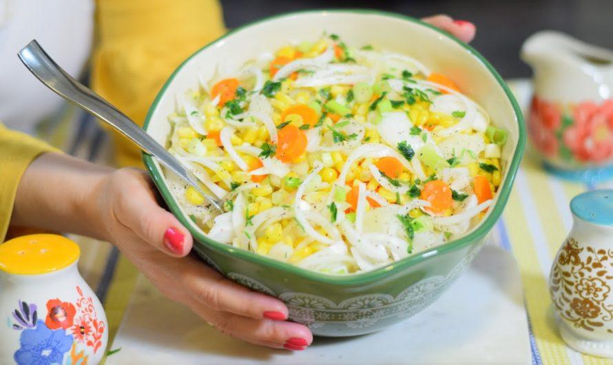 Posna sarena salata