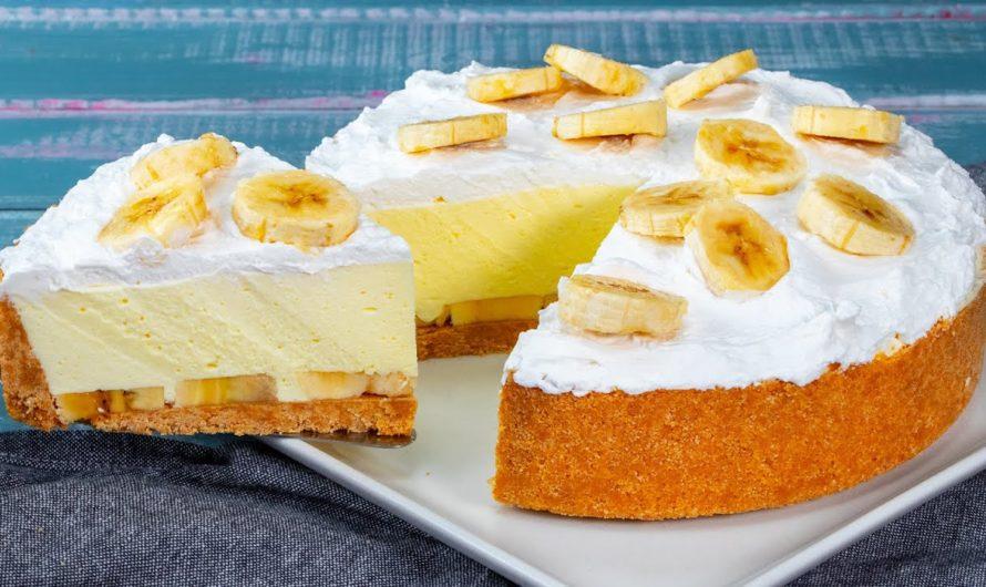 Ukusna torta od banana i keksa gotova za nekoliko trenutaka